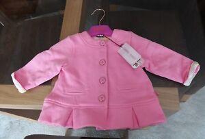 49ea7e612 Baker By Ted Baker Baby Girl Spring Summer Pink Floral Jacket 6 - 9 ...