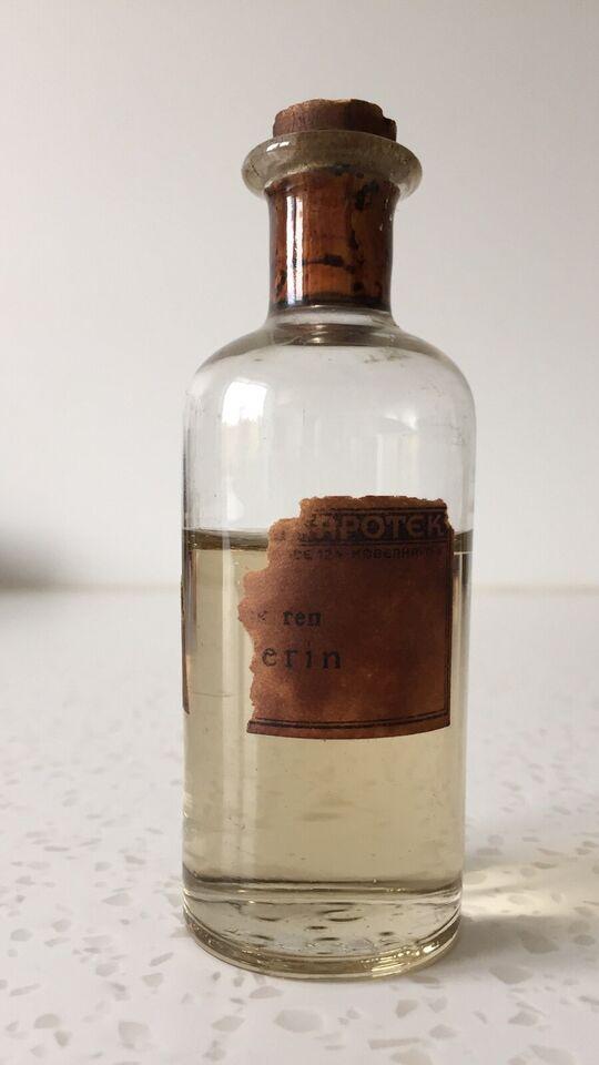 Flasker, Apotekerglas