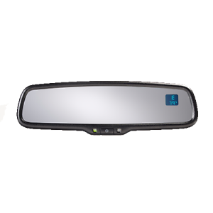 Advent ADVGEN20A Gentex Auto Dimming Rearview Mirror w/ Compass and Temperature
