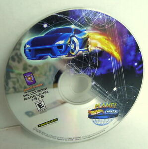 Hot-Wheels-Planet-Hot-Wheels-com-Chemical-Energy-CD-Rom-2001-used-no-package