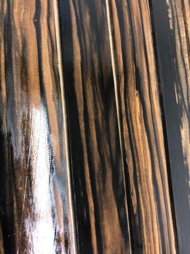 GOLDEN Ebony GriffbretterFingerboardsTonholzTonewood530 x 75 x 9 mm