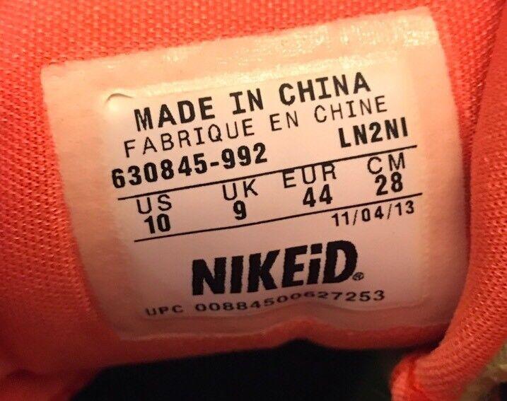 bei nike id basketball - schuhe  id nike - farbe schuhe 630845-992 größe 10. 8994b2