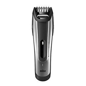 Braun-Personal-Care-BT-5090-BeardTrimmer-Silber-Bartschneider-Akkubetrieb-Tasch