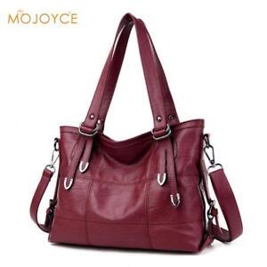 0ca8d61a26 Image is loading Large-Soft-Leather-Bag-Women-Handbags-Ladies-Crossbody-