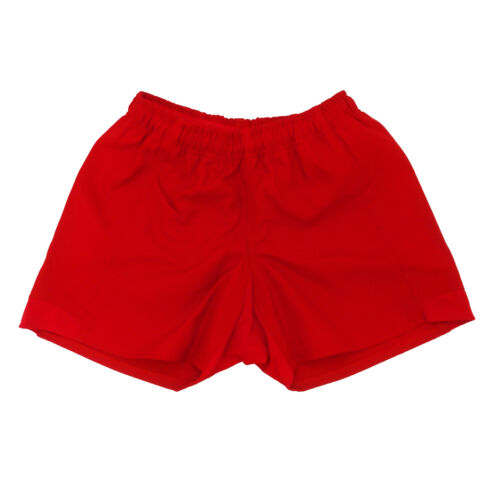 Rugby Heaven Shorts Adults Red
