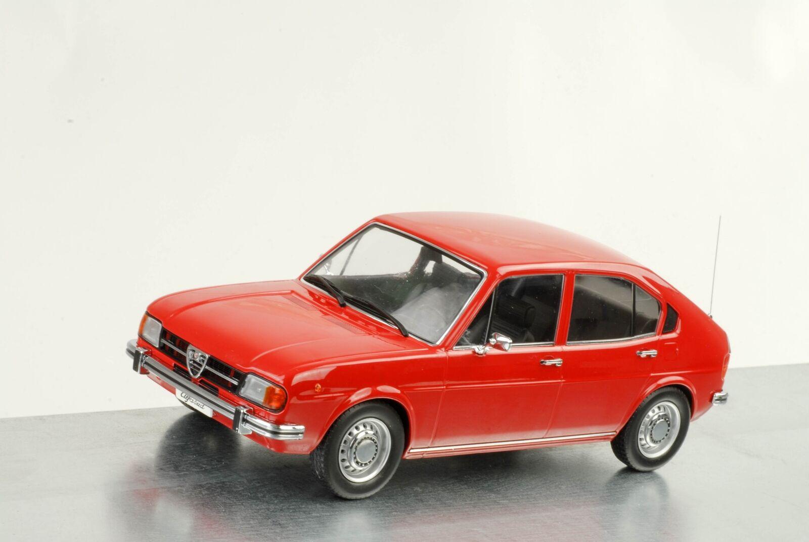 Alfa Romeo Romeo Romeo Alfasud 1974 1.3 Rojo 1 18 Kk Scale Diecast 1e57bc