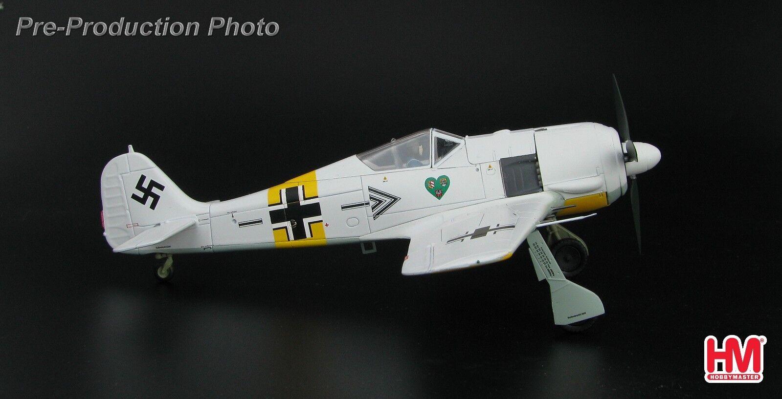 Hobby Master HA7422, FW 190A-4, Oberstleutnant Hannes Trautloft , Geshwaderkomm