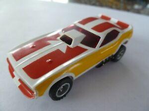 NOS Aurora Tyco Afx AW Orange Cuda Slot Car Body HO Nice**SALE**