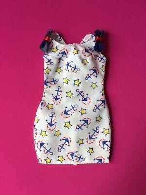 BARBIE BABY Blue SLEEVELESS dress W// DAISY PRINT