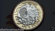 5 euro 2014 fdc FINLANDIA Finland FINLANDE acqua eau water gewässer agua 水 воды