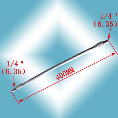 150//200//300//400mm Flexible Extension Screwdriver Drill Bits Holder Link Adapter
