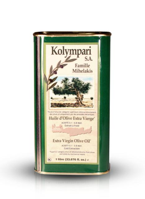 Kolympari - Kreta 1 liter Kanister Extra Natives Olivenöl