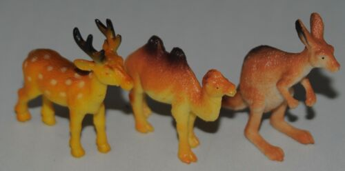 Plastic Deer Kangaroo Camel High colour details FREE POST UK SELLER