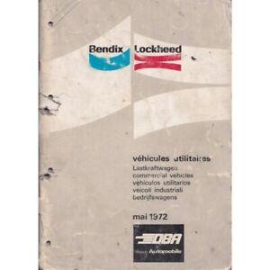 Catalogue-Bendix-Lockheed-Vehicule-Utilitaire-1972-BENDIX-BEN-VU-1972