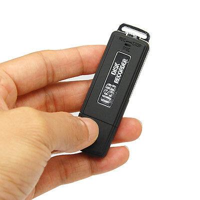 Mini 8GB USB Disk Pen Flash Drive Digital Audio Voice Recorder 150 hrs Recording
