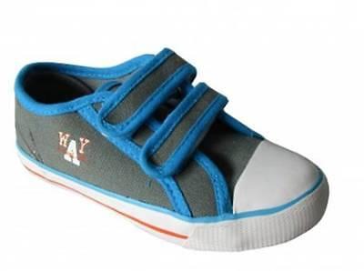 Niños Y Cierre Táctil Zapatillas Zapatos Gratis P&P