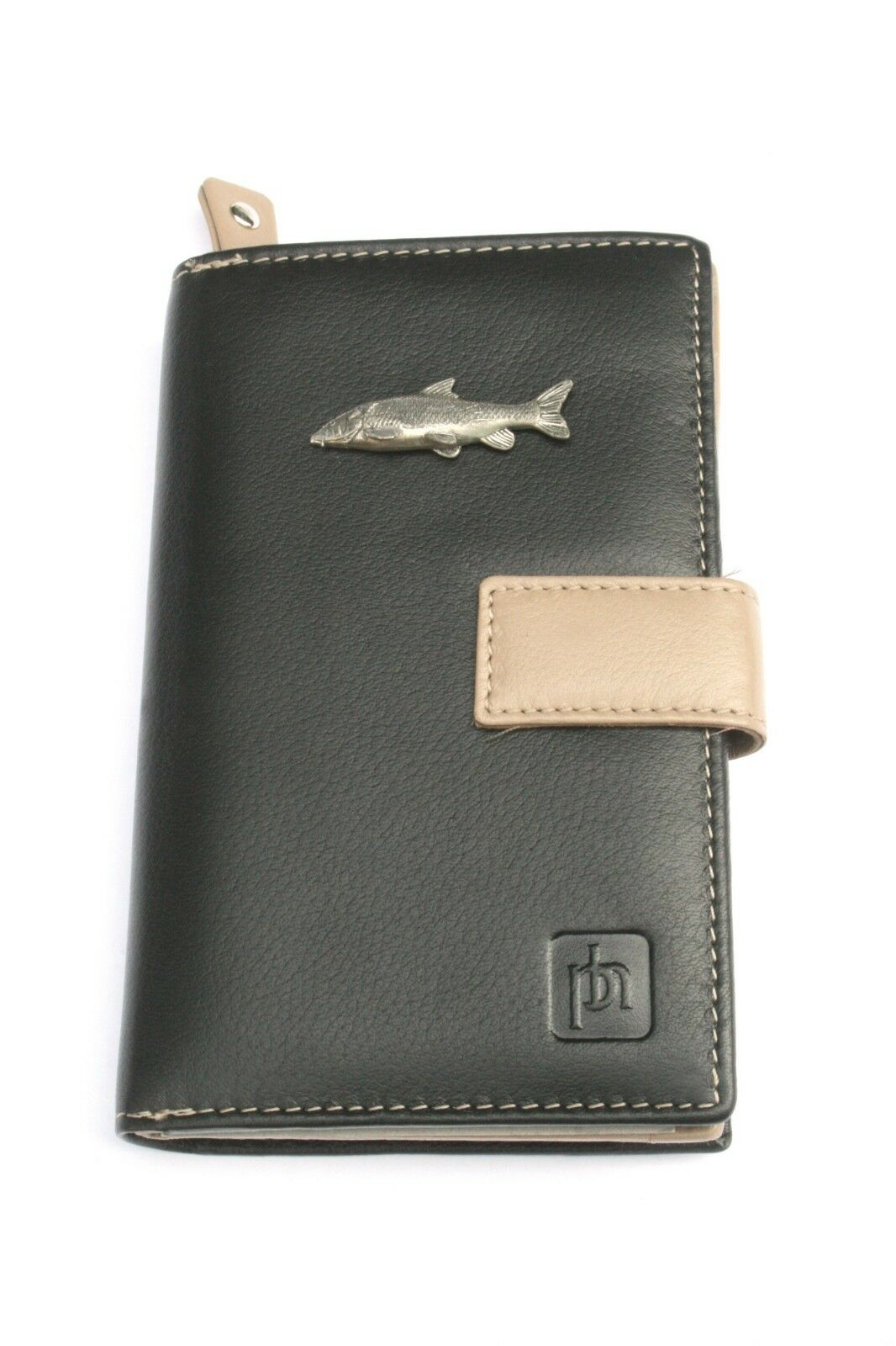 Barbel Fish Fishing Leather Purse with Zipped Pocket RFID Safe Ladies Gift 019