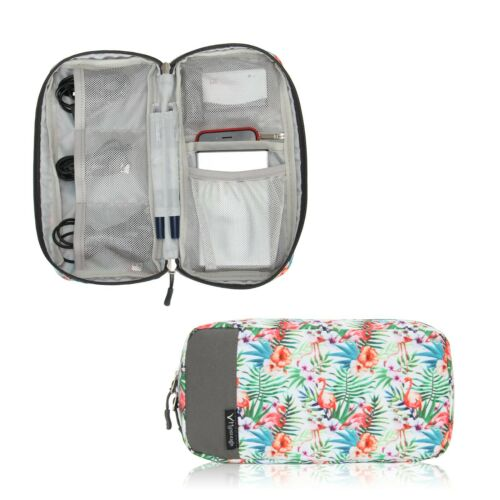Hynes Eagle Cord Organizer Small Electronics Case Pouch Accessories Storage Bags