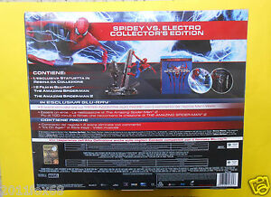 film-2-blu-ray-disc-the-amazing-spider-man-electro-collector-039-s-edition-box-set-z