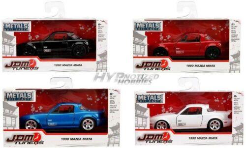 Set 30950 Jada 1:3 2 Metalle Jdm Tuners 1990 Mazda Miata 4-tlg