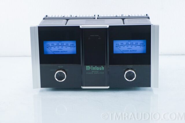 mcintosh mc252 stereo power amplifier with original boxes for sale online ebay. Black Bedroom Furniture Sets. Home Design Ideas