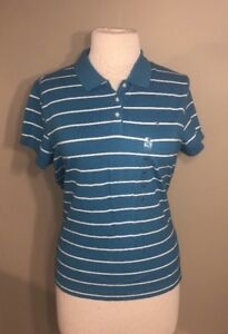 42507e43bb49e NEW Women s Tommy Hilfiger Plus Size 2X Blue Striped Polo Shirt ...
