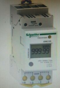 Schneider IEM2105 MODULAR SINGLE PHASE POWER METER 230V 63A, With Pulse