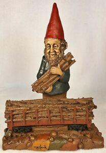 LUMBERJACK-R 1988~Tom Clark Gnome~Cairn Item #5041~Ed #42~COA~Hand Signed~Story