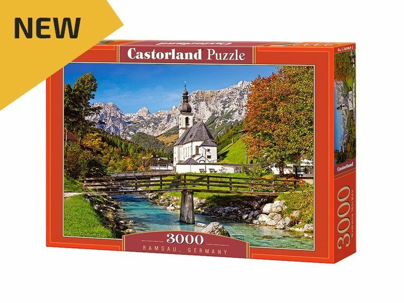 Castorland Puzzle 3000 Pieces - Ramsau, Germany - 36  x 27  Sealed box C-300464