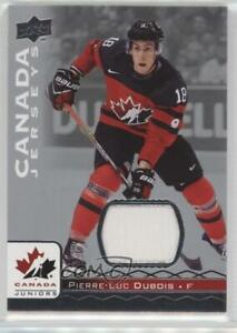 2017 Upper Deck Team Canada Juniors Jerseys Pierre-Luc ...