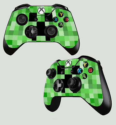 Able Mando Para Xbox One Pad Pegatina Verde Pixel Monster Bloque Rana Mine Skins X2 2019 Latest Style Online Sale 50%