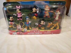 Disney Junior Mickey Collectible Friends Set Minnie Goofy Donald New Free Ship