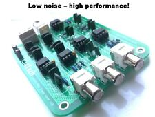NEW ! Linkwitz-Riley OPA2134 3-way active filter by KMTech assembled/tested v1.3