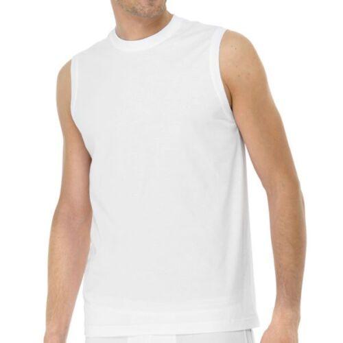 SCHIESSER HERREN 2 x American Shirt ohne Arm Gr S M L XL  XXL weiß schwarzNEU