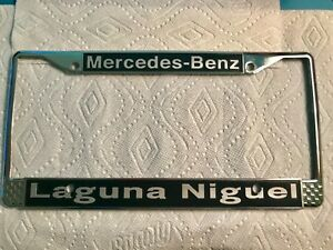 Image Is Loading Laguna Nigel Mercedes Benz Car Dealership License Plate