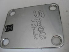 Fender Squier Guitar Neck Plate Part for Project Repair Upgrade