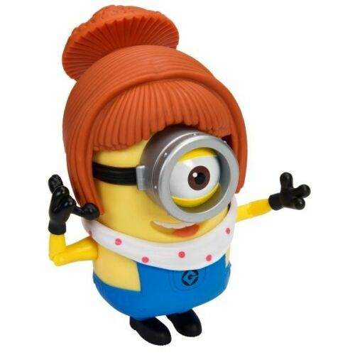Méprisable me minion made deluxe build-a-minion-pompier//lucy-new en stock