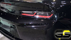 Image Is Loading 2016 2017 Gen 6 Chevrolet Camaro Rear Dark