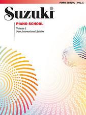 Suzuki Piano School New International Edition Piano Book, Volume 1 ,0473SX