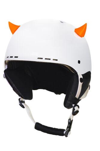 Crazy Ears Helm Accessoires Kleine Hörner Käfer Krone Helmaufkleber Skihelm