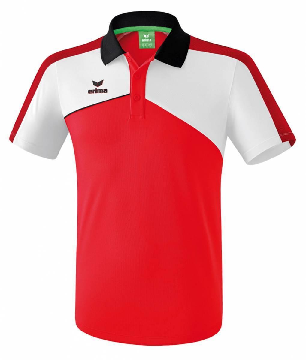 Erima Premium One 2.0 Poloshirt Poloshirt Poloshirt rot-weiß-schwarz NEU 91100 39b026