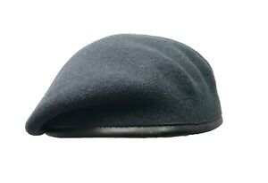 New Black Military Beret COMMANDO Brand Small Crown Pure Wool