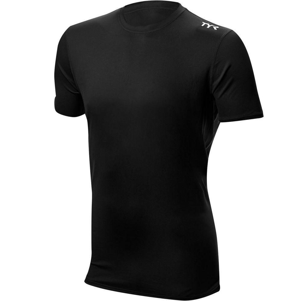 TYR Men's Short Sleeve Rashguard - 2019