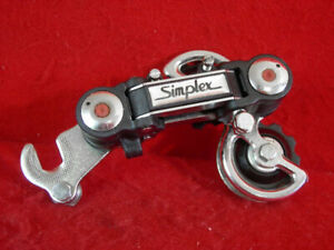 Simplex-5-Speed-Rear-Derailleur-Short-Cage-With-Hanger-Used