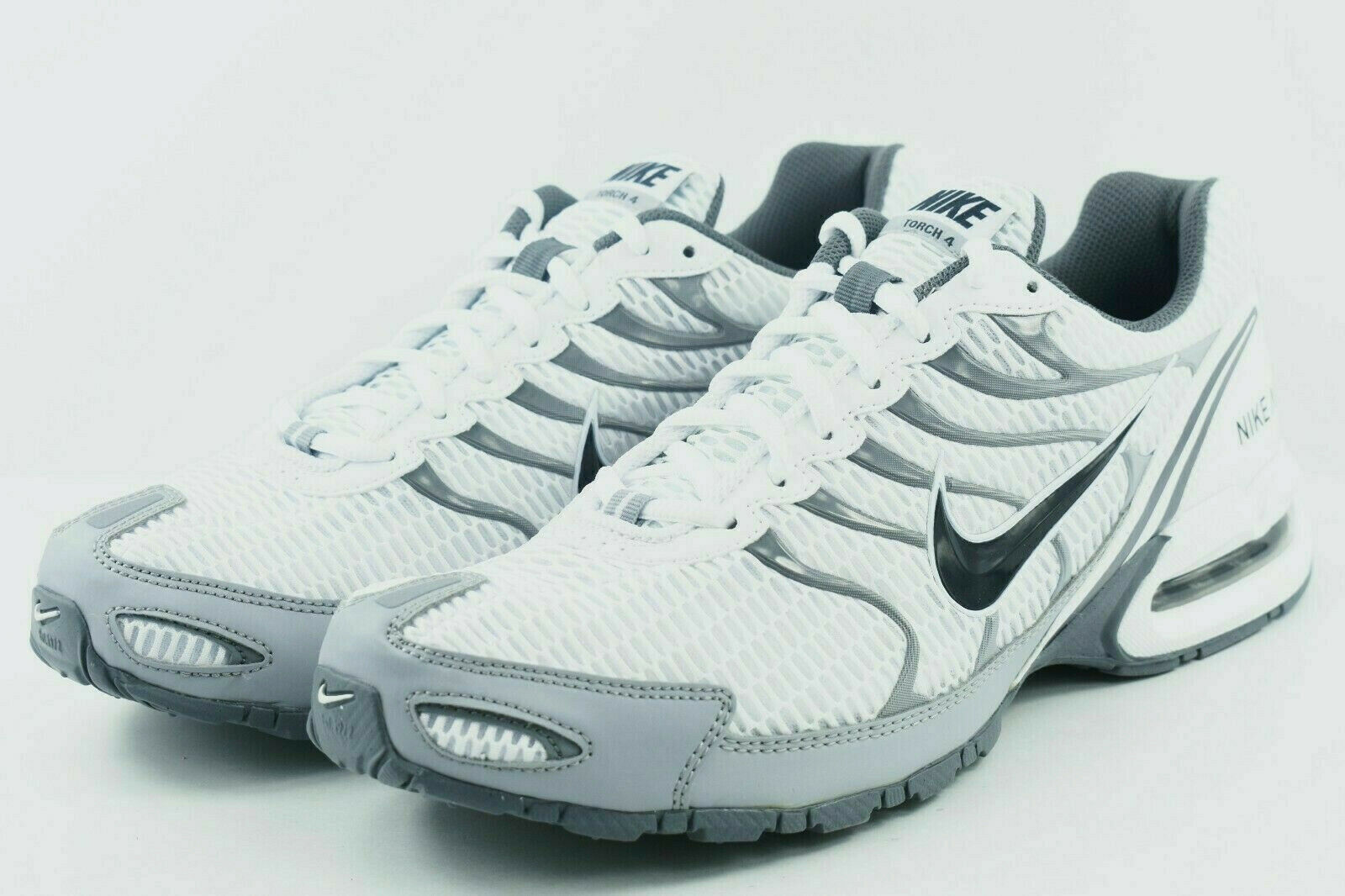 NIB NIKE 343846 100 MEN AIR MAX TORCH 4 WHITE ANTHRACITE SHOES SELECT SIZE  100