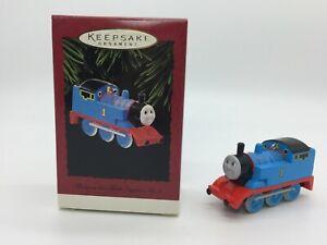 "Hallmark Ornament 1995 ""Thomas the Tank Engine No. 1""   eBay"