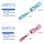 thumbnail 5 - 100Pcs Heat Shrink Bullet Wire Connectors 22-10AWG Male Female Crimp Terminals