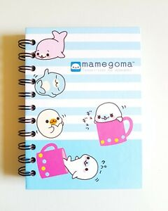 Details about San-x Character Mamegoma Little Seal Notebook Notepad Cover,  Japanese Brand NEW