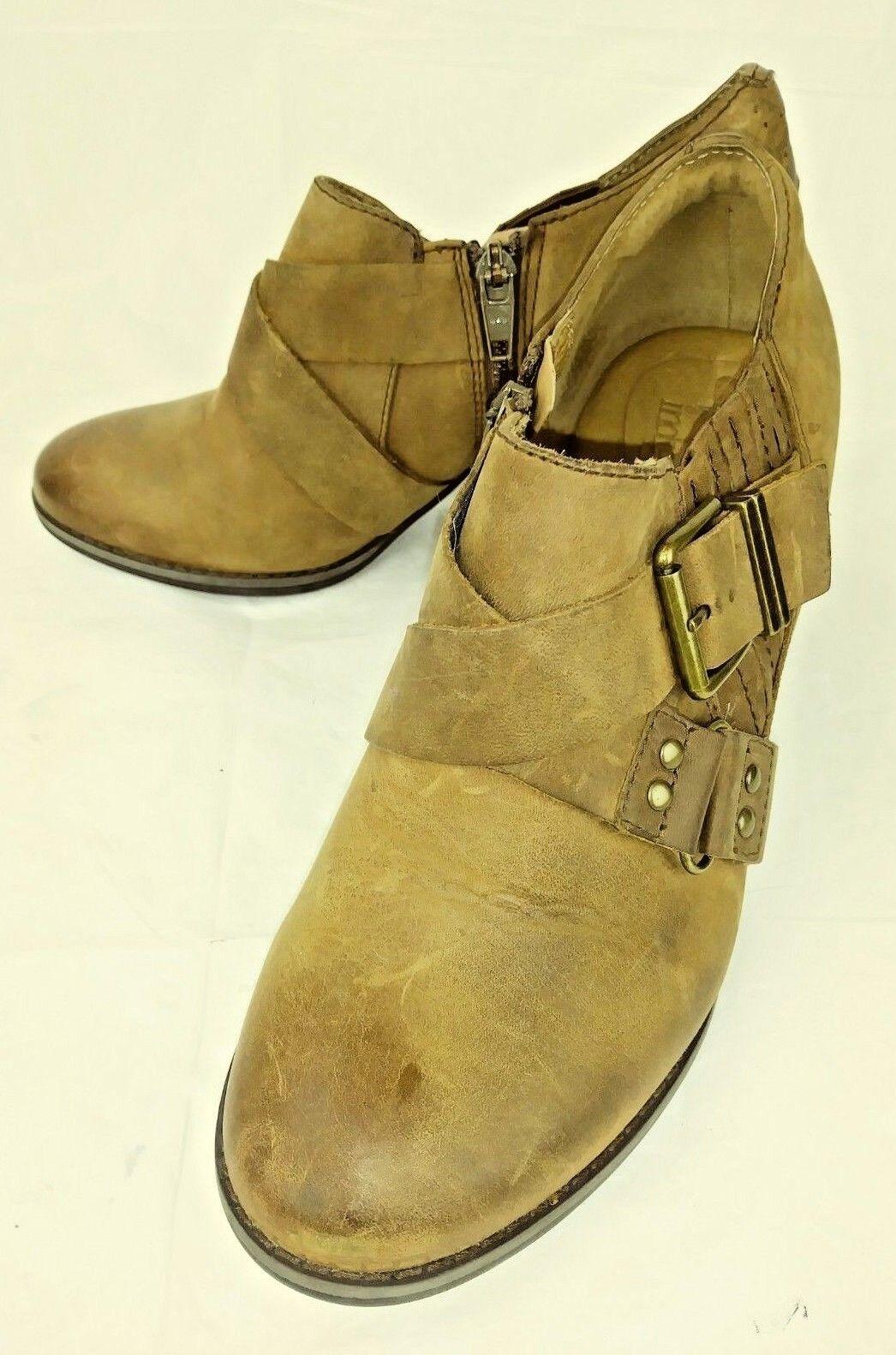 Clarks Indigo 63079 femmes Shooties US 7 M marron Leather Casual Heels 177