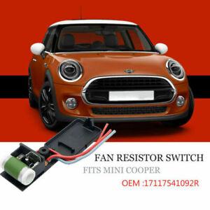 Per-Mini-Cooper-R50-R52-R53-OEM-Ventola-Di-Raffreddamento-Del-Motore-Resistore